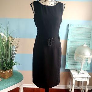 Black Calvin Klein Sheath Dress